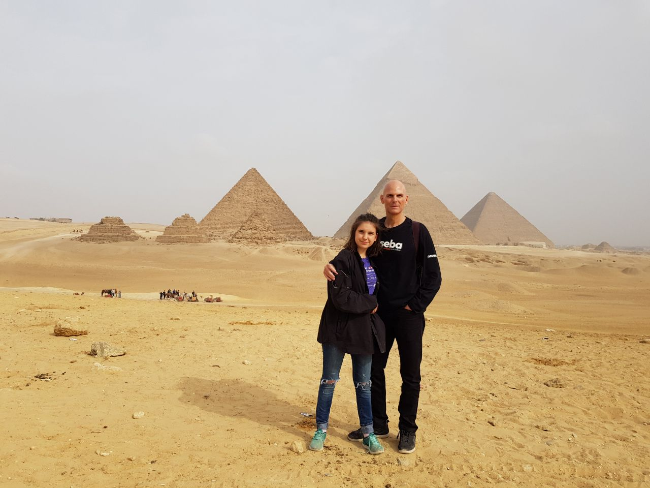 experiencing the pyramids of Giza and the streets of Cairo…